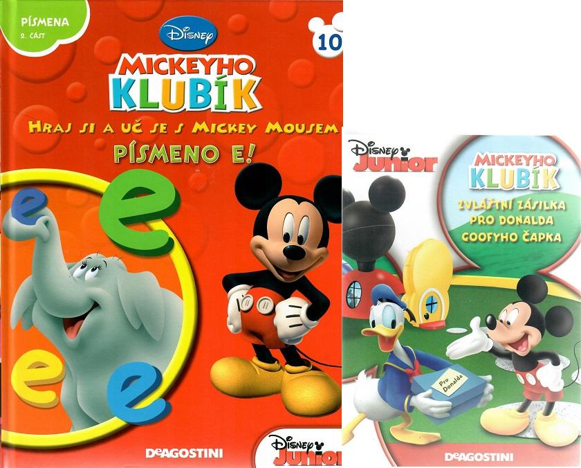 Mickeyho klubík 10 ( DVD + kniha)