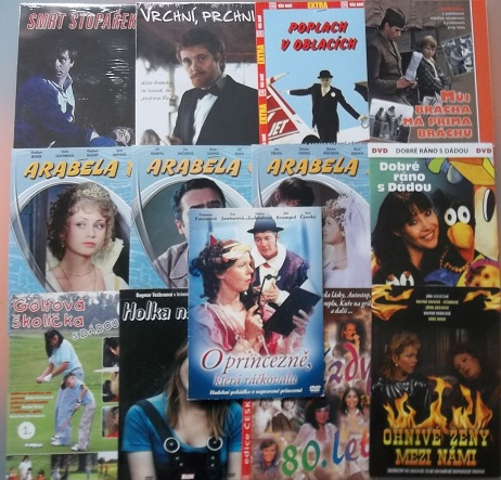 Kolekce Dagmar Patrasová -13 DVD