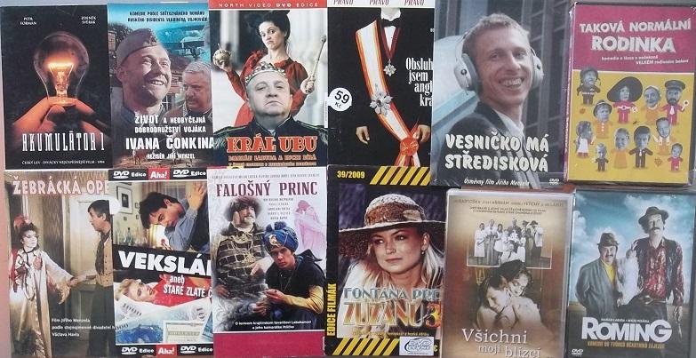 Kolekce Marián Labuda - 12 DVD