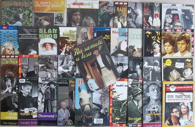 Kolekce Josef Kemr - 39 DVD