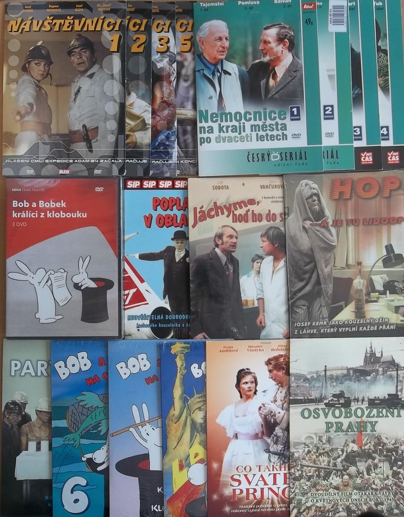 Kolekce Josef Dvořák - 17 DVD