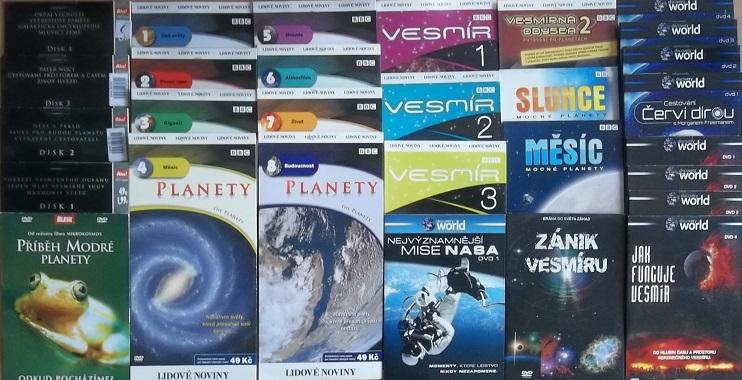 Velká kolekce Vesmír - 29 DVD