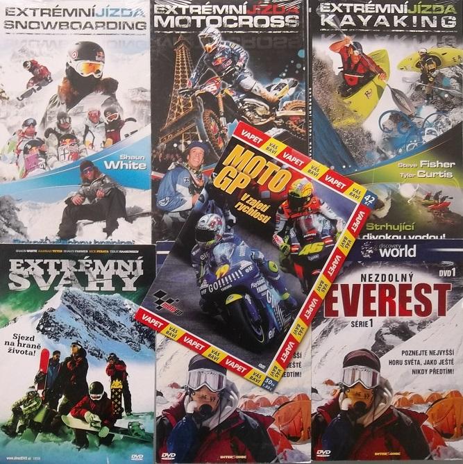 Velká kolekce Vesmír - 34 DVD
