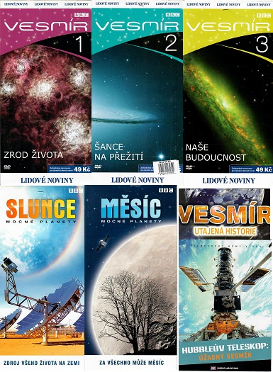 Kolekce Vesmír - 7 DVD