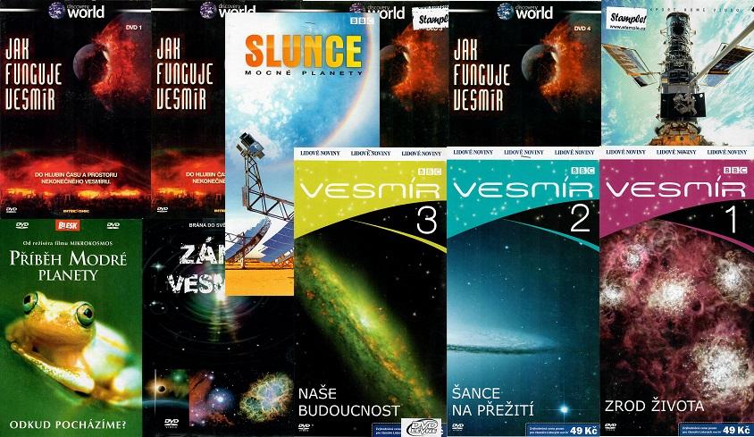 Kolekce Jak funguje vesmír - 11 DVD