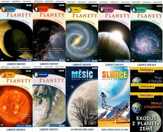 Kolekce Planety - 12 DVD