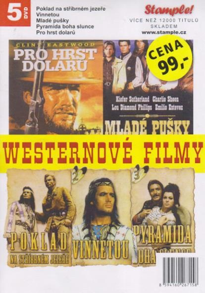 Kolekce Westernové filmy - DVD