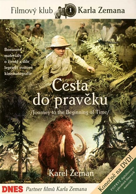 Cesta do pravěku - DVD - digipack