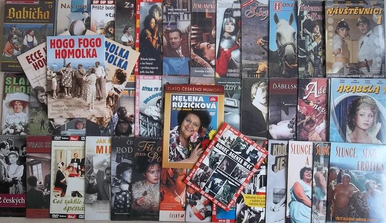 Kolekce Helena Růžičková - 50 DVD