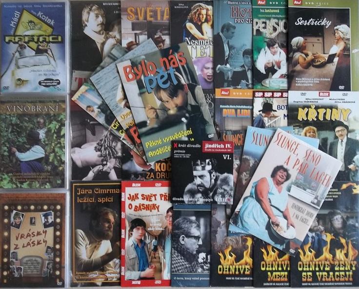 Kolekce Jiřina Jirásková - 29 DVD