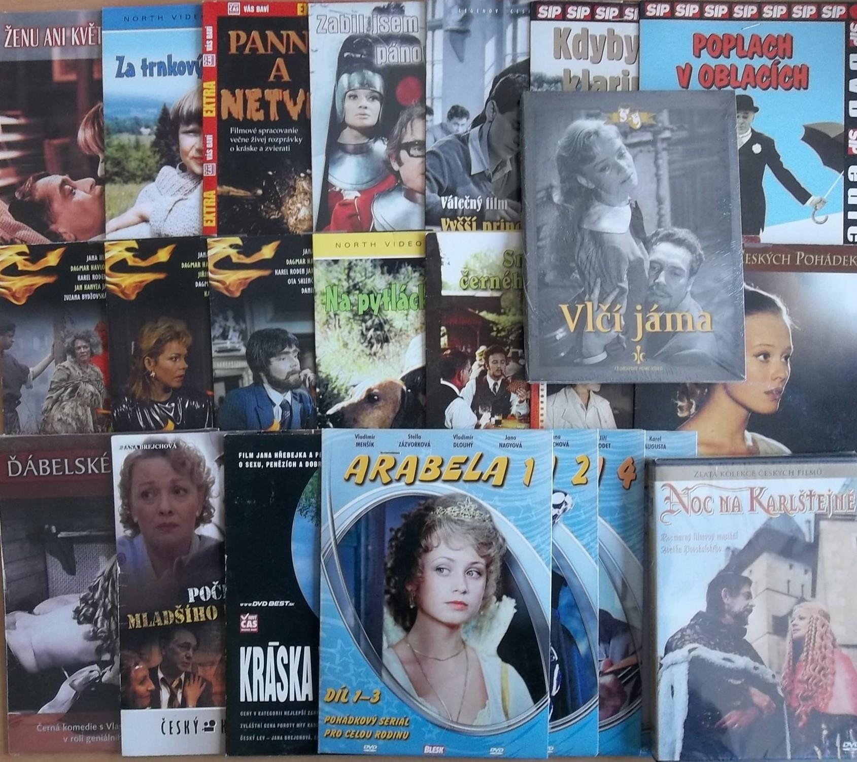 Kolekce Jana Brejchová - 23 DVD