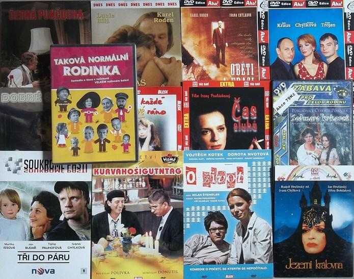 Kolekce Ivana Chýlková - 13 DVD