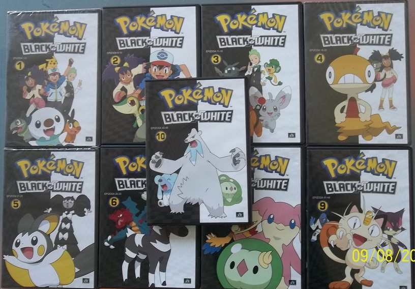 Kolekce Pokémon Black&White - 9 DVD