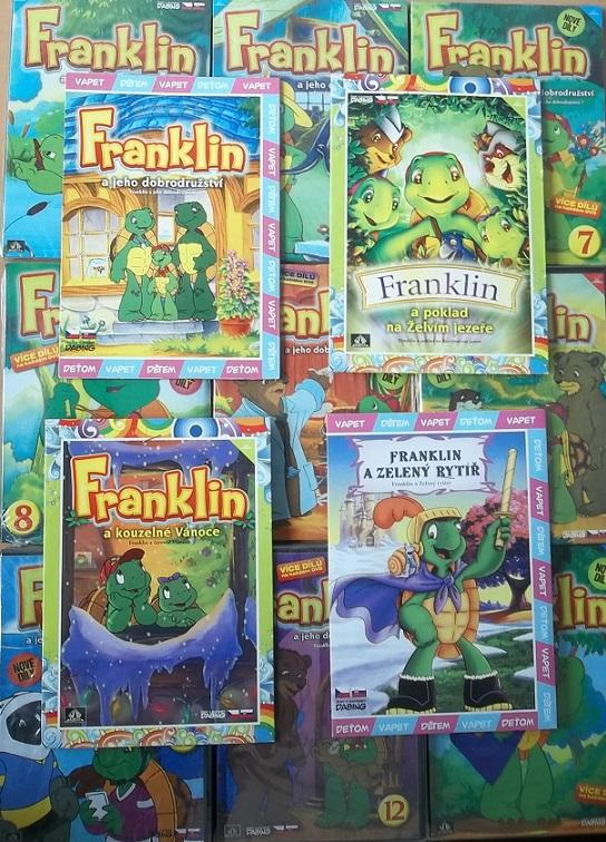 Kolekce Franklin  - 13 DVD