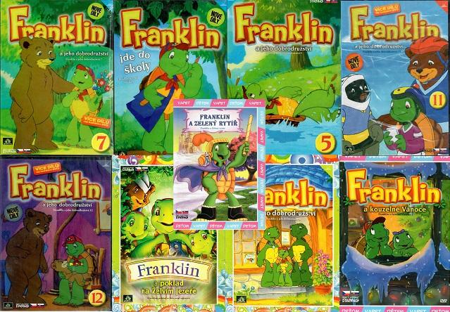Kolekce Franklin  - 9 DVD