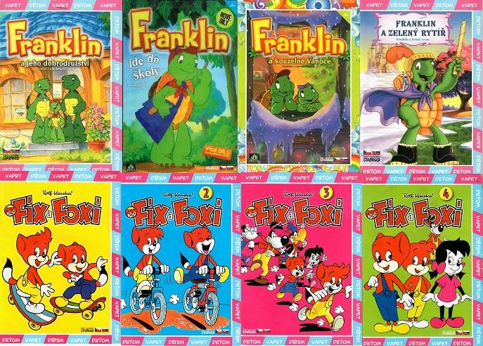 Kolekce Franklin + Fix a Foxi  - 8x DVD