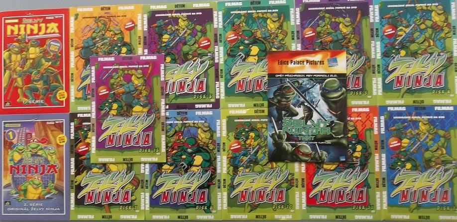 Kolekce Želvy Ninja -14DVD