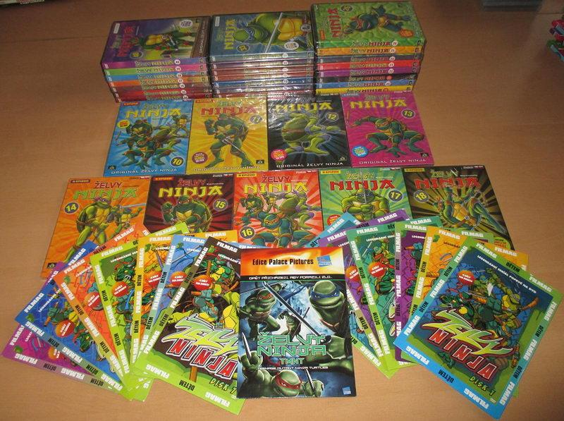Velká kolekce Želvy Ninja - 41 DVD