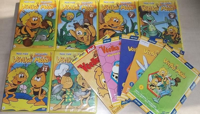 Velká kolekce včelka Mája - 11 DVD