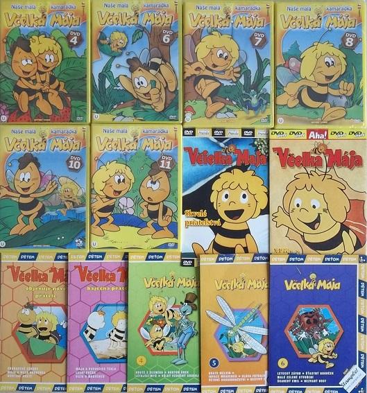 Velká kolekce včelka Mája - 13 DVD