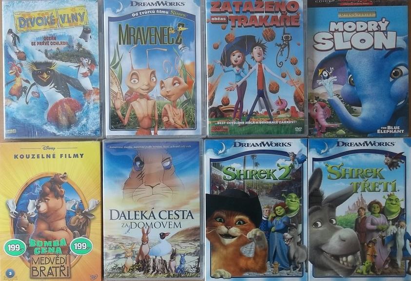 Kolekce Slavné animované příběhy - 8 DVD