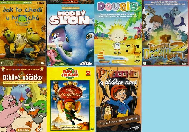 Kolekce animovaná dobrodružství - 7 DVD