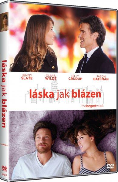 Láska jak blázen - DVD