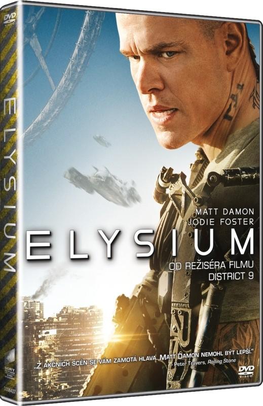 Elysium - DVD plast