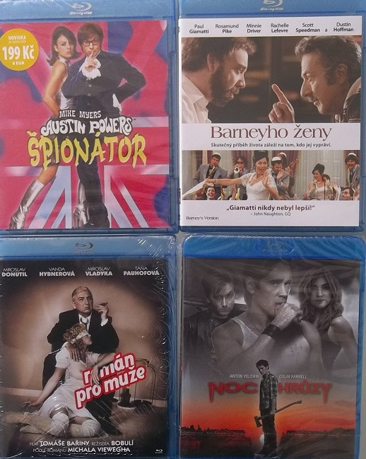 Blu-ray kolekce Komedie - 4 Blu-ray