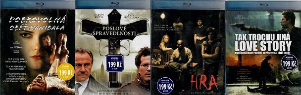 Blu-ray kolekce Krimi/Thriller - 4 Blu-ray