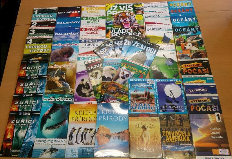 Velká kolekce Příroda - časopis + 42DVD