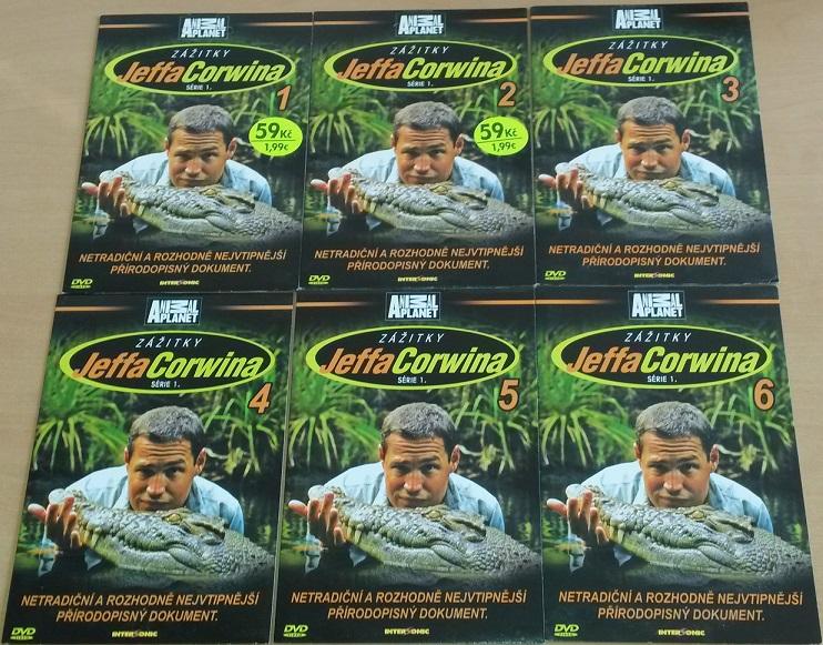 Kolekce Zážitky Jeffa Corwina - 6 DVD