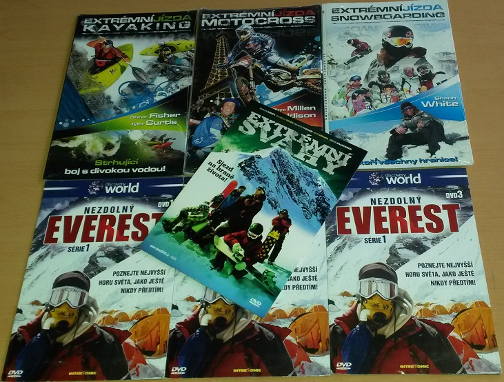 Kolekce extrémní jízda - 7 DVD