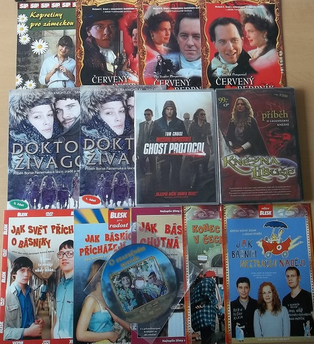 Kolekce Pavel Kříž - 14 DVD
