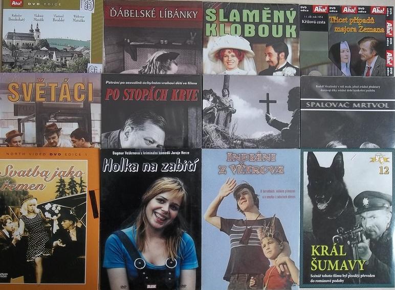 Kolekce Ilja Prachař - 12 DVD