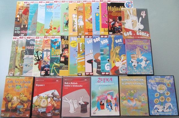 Velká kolekce pohádek z večerníčků - 40 DVD