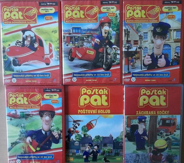 Kolekce Pošťák Pat - 6 DVD