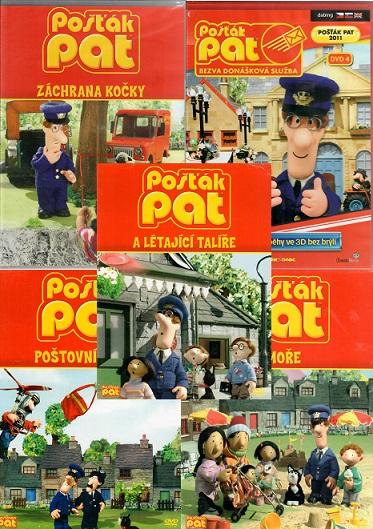 Kolekce Pošťák Pat - 5 DVD