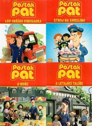 Kolekce Pošťák Pat - 4 DVD