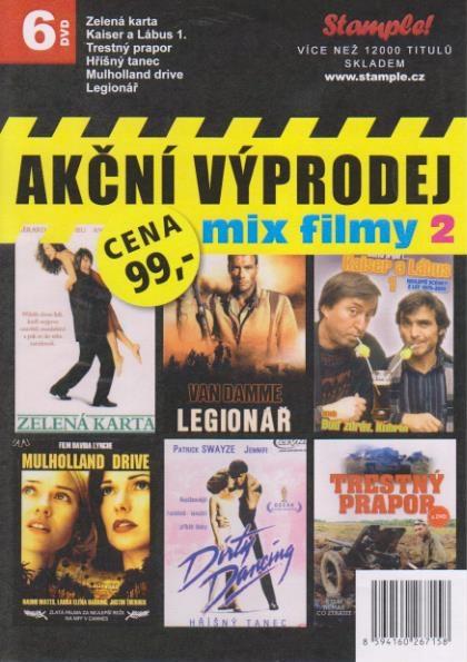 Akční výprodej mix filmy 2 - 6 DVD
