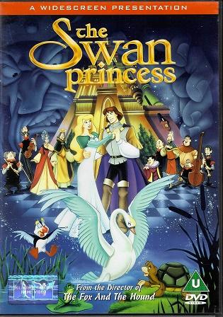 The Swan Princess / Labutí princezna ( Originální znění, titulky CZ ) plast DVD