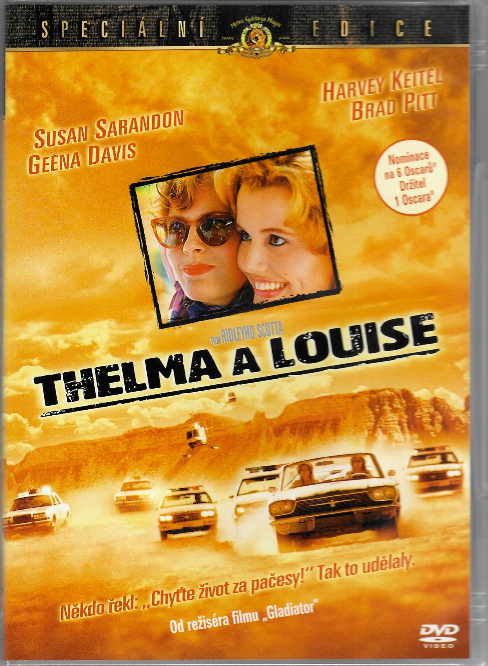 Thelma a Louise - DVD plast