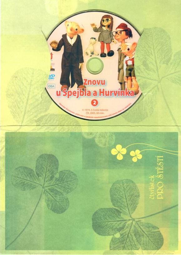 60 večerníčků - 28 - Znovu u Spejbla a Hurvínka 2 - DVD dárková obálka