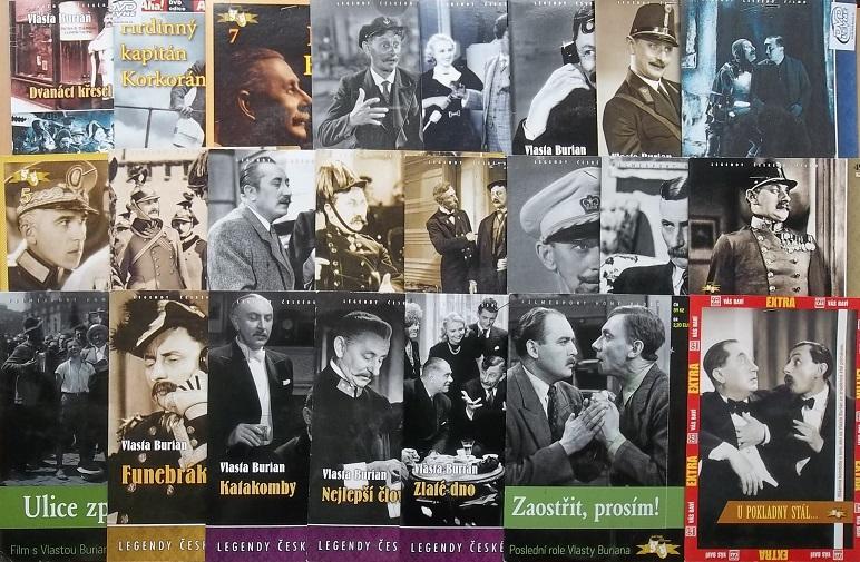 Velká kolekce Vlasty Buriana - 24 DVD