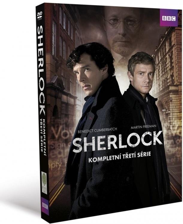 Sherlock kompletní třetí série 3DVD