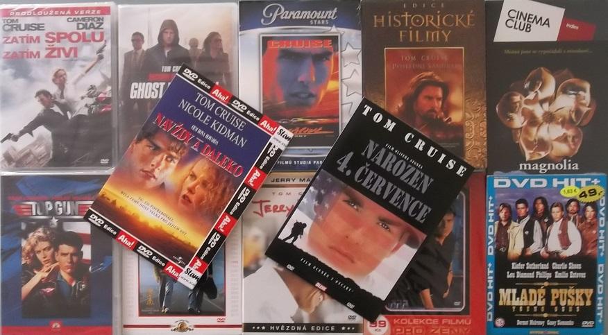 Kolekce Tom Cruise - 12 DVD