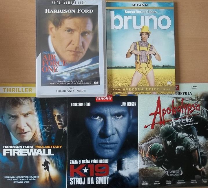 Kolekce Harrison Ford - 5 DVD