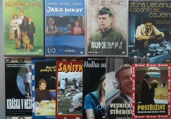 Kolekce Jiří Schmitzer - 10 DVD