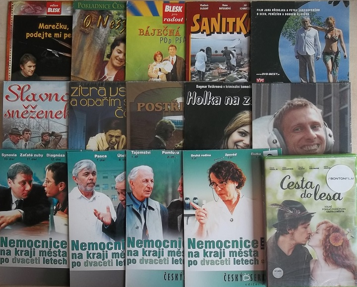 Kolekce Jiří Schmitzer - 21 DVD