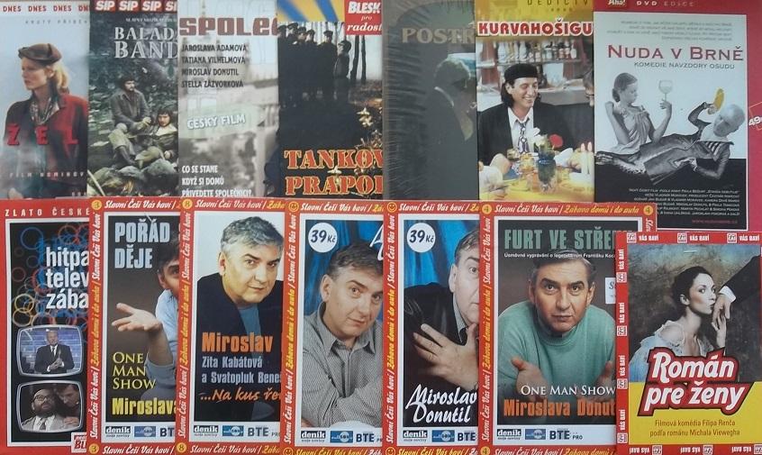 Kolekce Miroslav Donutil - 14 DVD